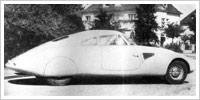 1930-aerodynaaminen testissä auto